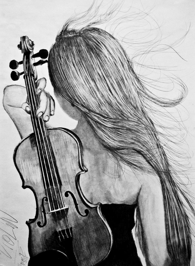 Violin by Maarel