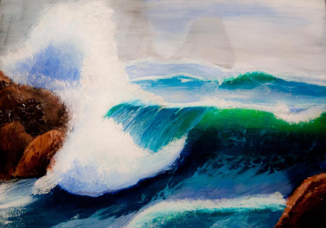 Sea Wave by Maarel