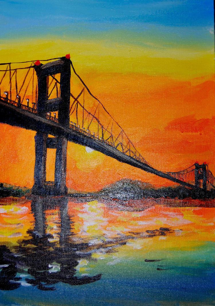 The bridge by Maarel