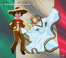 Amourshipping Ash X Serena: Viva Mexico by mglm12