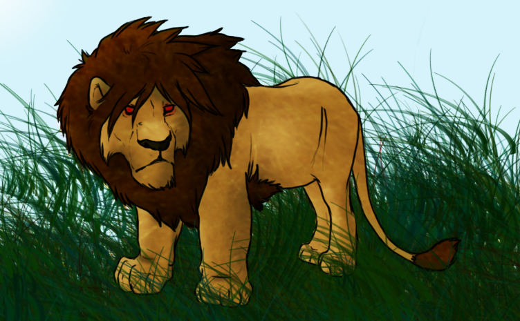 Lion Color by QuantumArt on DeviantArt