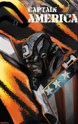 POC:I Captain America 1942 by JohnOsborne