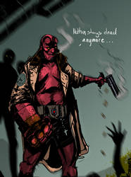 Hellboy by JohnOsborne