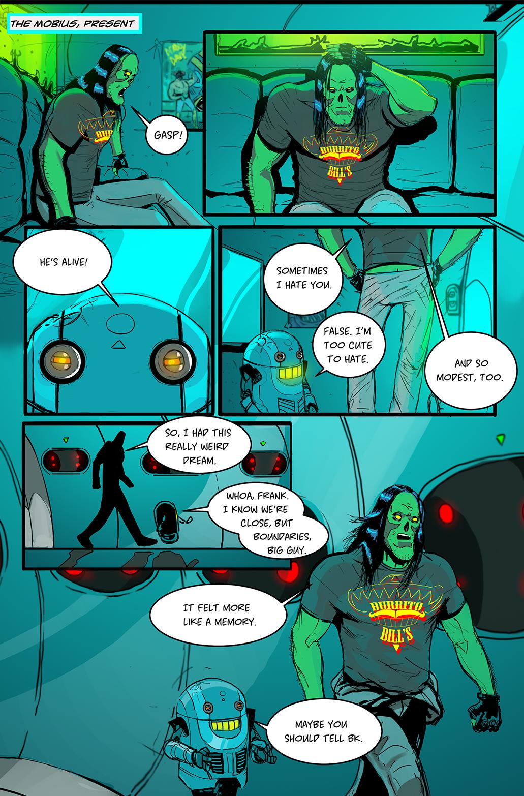 Frankenaut Issue 1 (Remaster) Page 02 by JohnOsborne