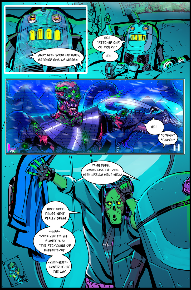 Frankenaut Issue 1 (Remaster) Page 25 by JohnOsborne