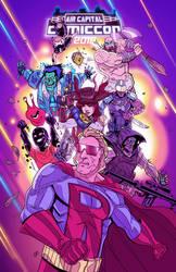 Air Capital Comic Con 2019 Poster