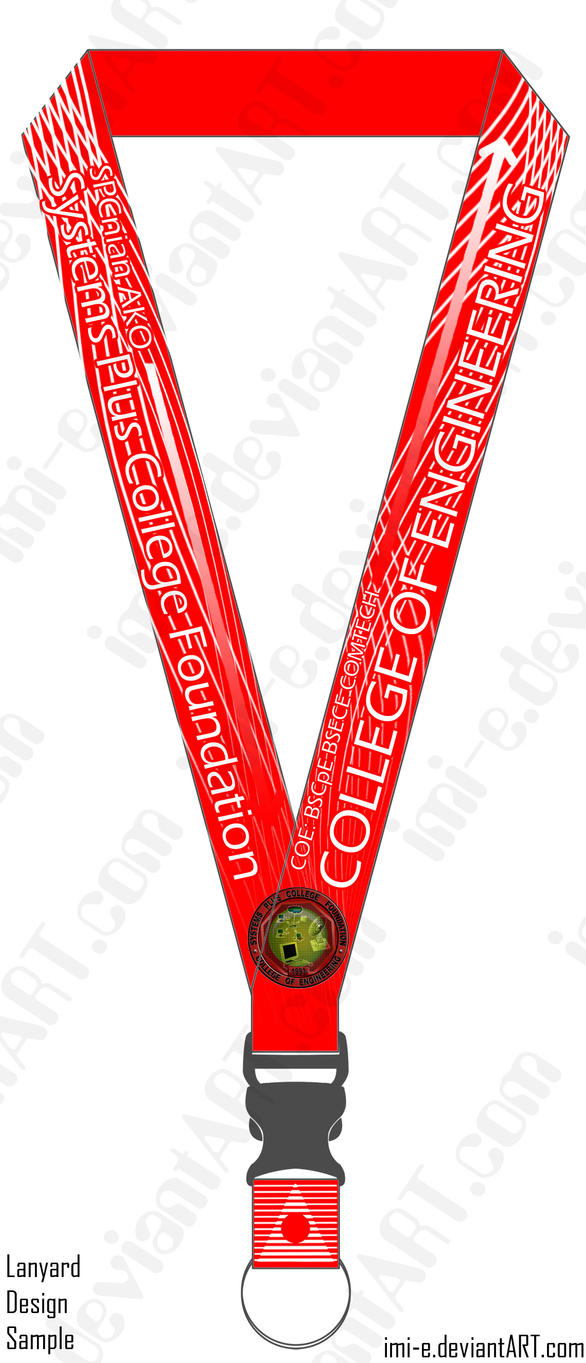 Lanyard Design By Imi E On Deviantart