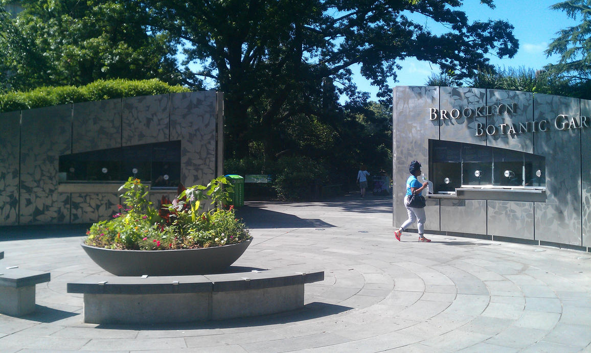 Brooklyn Botanical Gardens Entrance By Dkalban On Deviantart