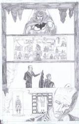 The Return of Damian Wayne, Part 1, Pg 1 by Dkalban