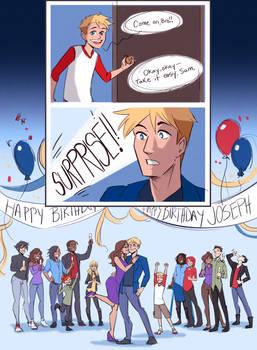 Happy Birthday Joseph (Dan!)