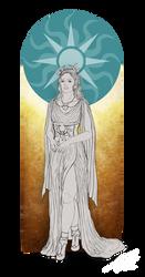 Gadriel - The Guardian of the Gods by KarolinaKabata