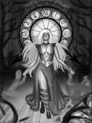 Wip #3 Lady Time by KarolinaKabata