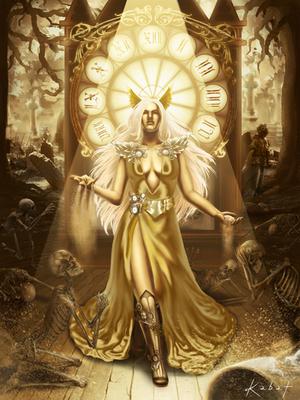 Lady Death : Lady of time by KarolinaKabata
