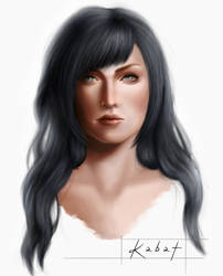 Lilith's head concept art by KarolinaKabata
