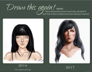 Draw This Again! Lilith Concept art by KarolinaKabata