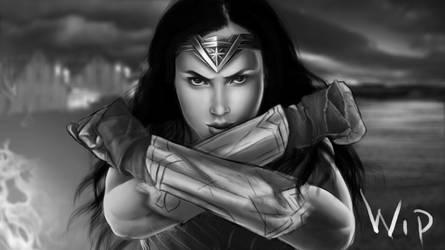 WIP # 6 Wonder Woman by KarolinaKabata