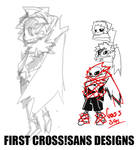 XTra content - First Cross!Sans concepts