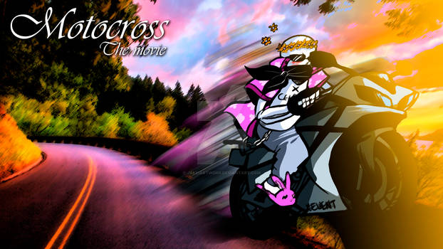 MotoCross - The movie poster
