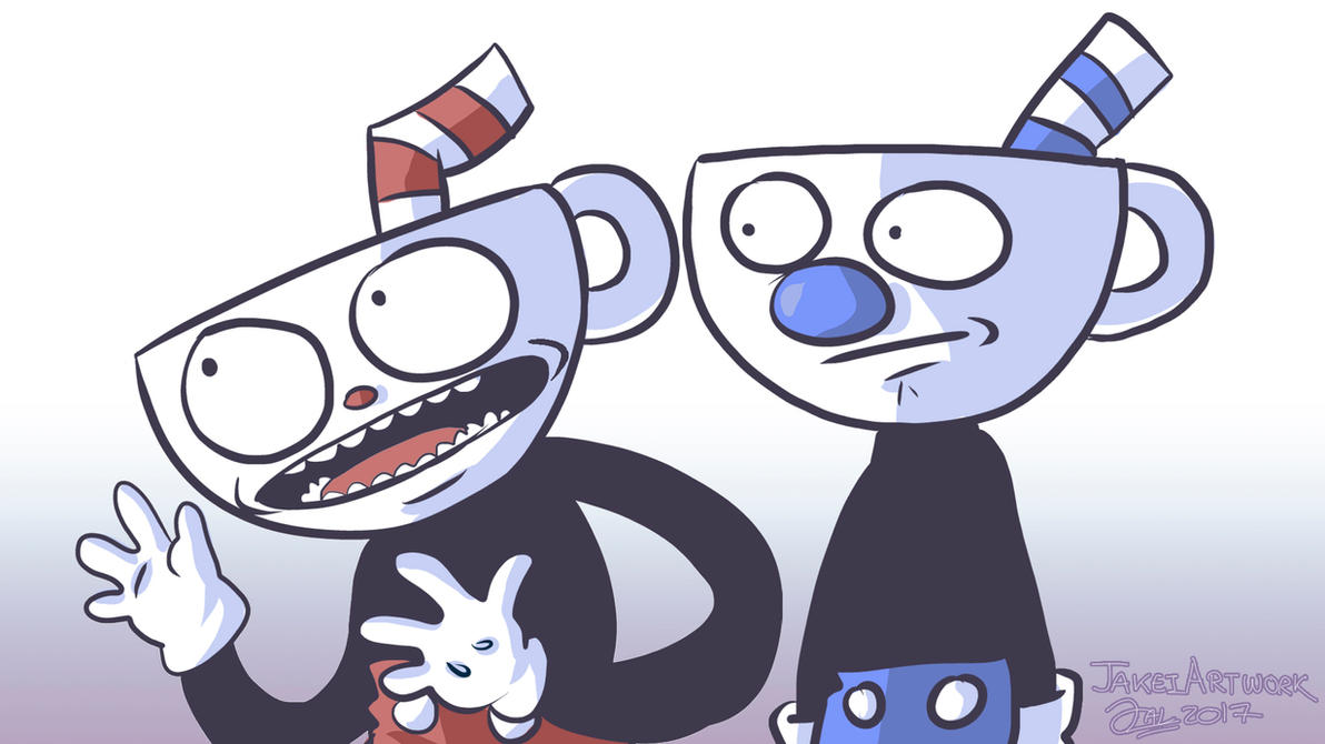 cuphead and mugman meme template  by jakeiartwork on deviantart