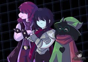 Three Heroes - Deltarune