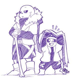 Kid and Royal Guard