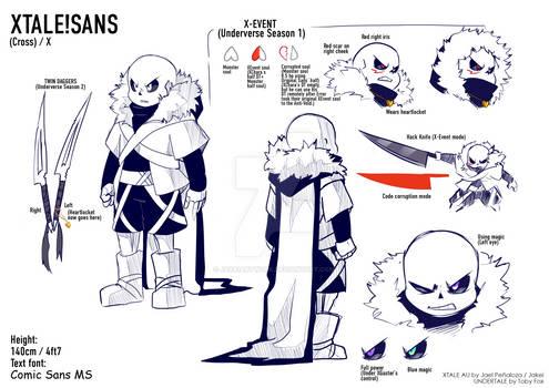XTALE SANS/CROSS Reference Sheet