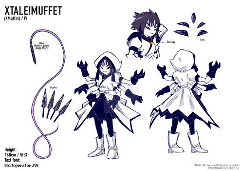 XTALE MUFFET Reference Sheet