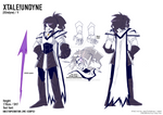 XTALE UNDYNE Reference Sheet
