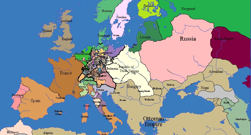 Russia Map Of Europe 2035