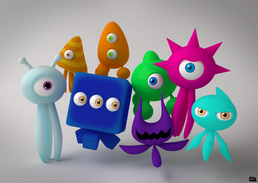 Sonic Colours: Wisps by Pixelgeezer on DeviantArt