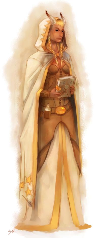 sand tribe cleric by stevethebunny