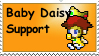 Baby Daisy Stamp by Gallagon