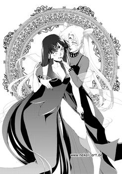 Black Lady and Mistress 9