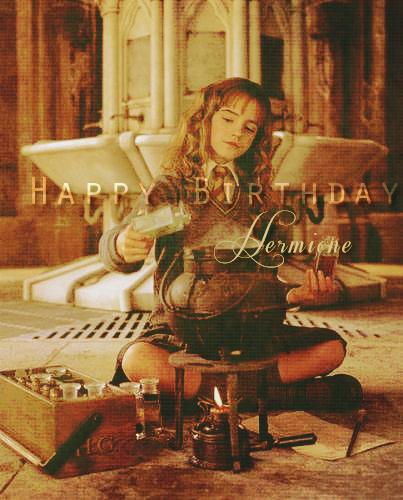 happy birthday hermione by - photo #30
