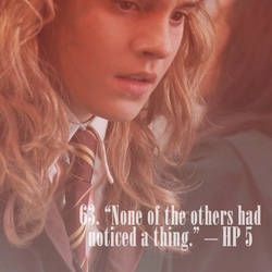 101 Reasons to Ship Harry and Hermione  - 63 by Lennves