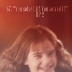 101 reasons to ship harry and hermione - 67 by Lennves