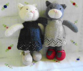 Two little cats by moravid