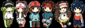 Pokemon B+W Chibis