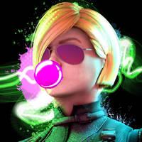 Cassie Cage + MK11 Inspired Icon by DCxDevKing