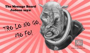 Message Board Judoon