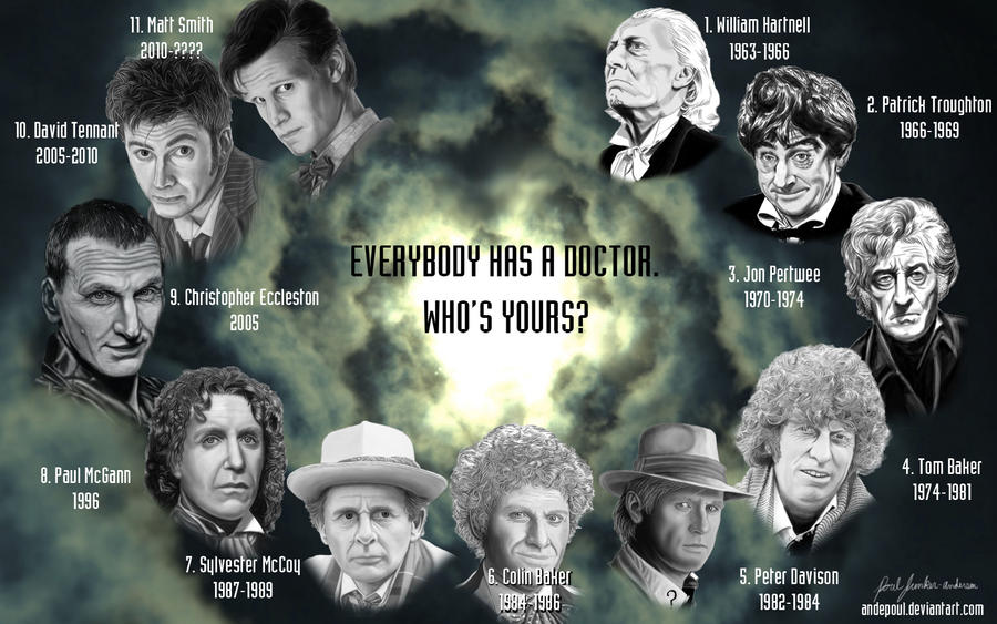 Everybody has a Doctor. Who's Yours? --Wallpaper-- by andepoul