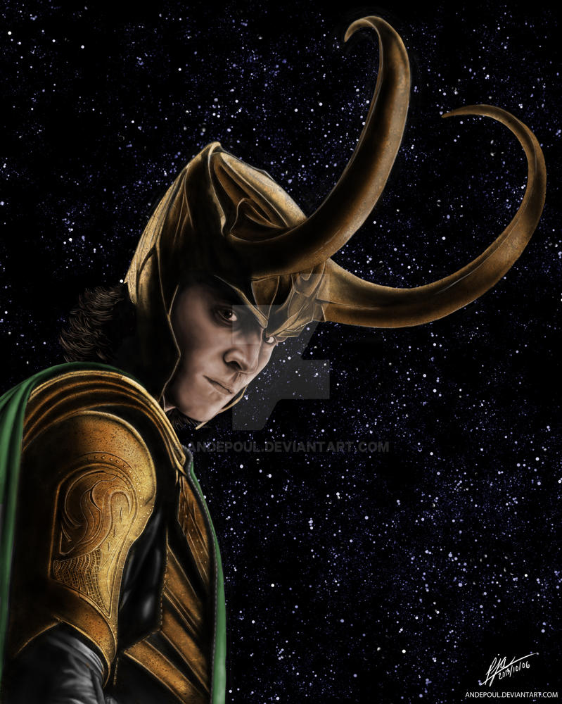 Loki - God of Mischief by andepoul on DeviantArt