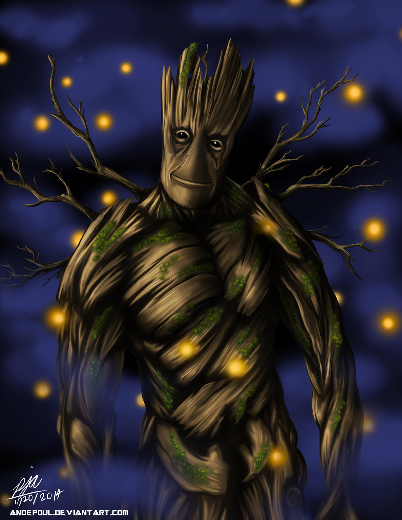 I am Groot by andepoul
