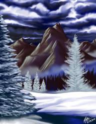 Landscape Speedpaint #1 by andepoul