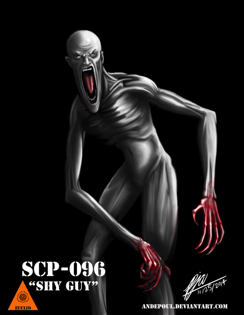 SCP-096 - The 'Shy Guy' by andepoul