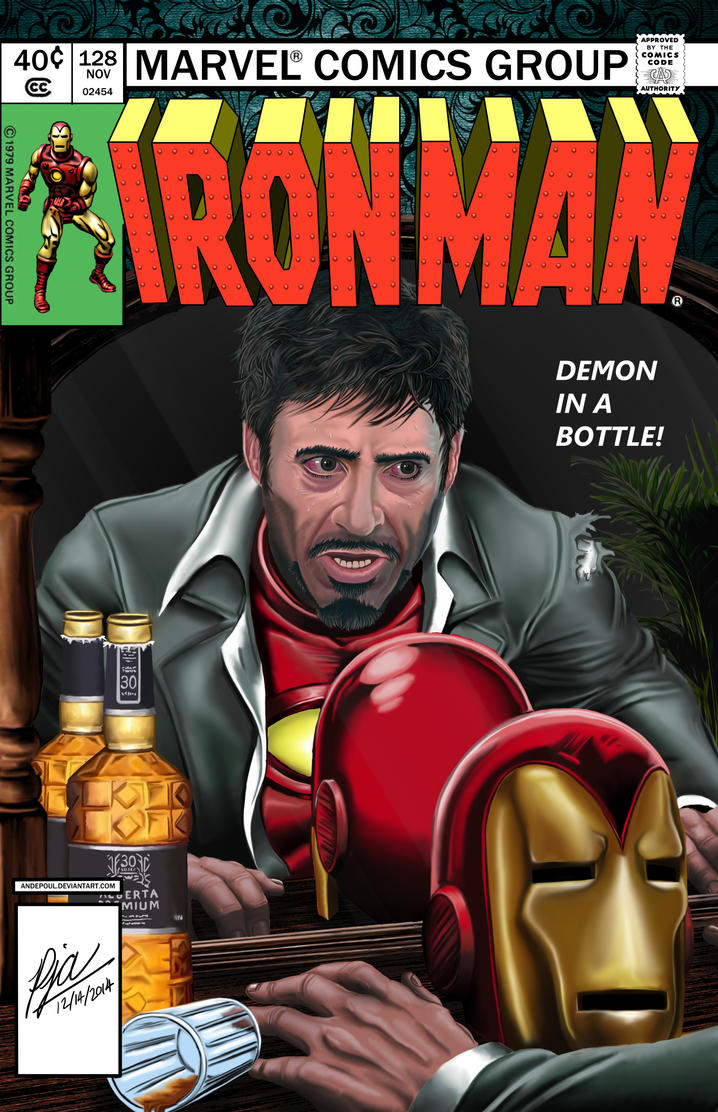 Demon in a Bottle (ft. Robert Downey Jr.) by andepoul
