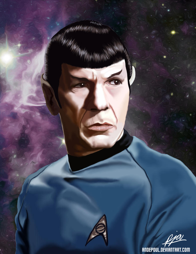 Leonard Nimoy - Tribute by andepoul