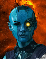 The Space Pirate, Nebula by andepoul