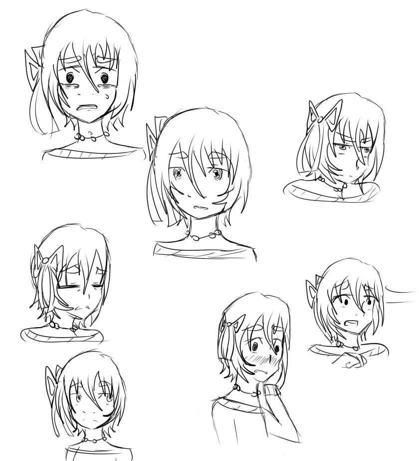 Sparrow Expressions by Rika-Kyashi