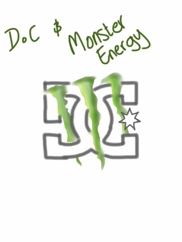 dc and monster energy by pewdsmosh on deviantart Metal Mulisha Logo Fox and Monster Logo